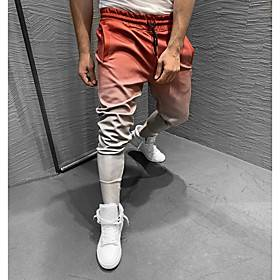 Men's Sweatpants Joggers Jogger Pants Track Pants Sports  Outdoor Pants / Trousers Athleisure Wear Fitness Running Jogging Breathable Quick Dry Soft Sport Colo