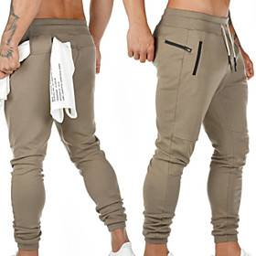 Men's Sweatpants Joggers Jogger Pants Track Pants Sports  Outdoor Athleisure Wear Bottoms Drawstring Cotton Winter Fitness Running Jogging Breathable Soft Spor