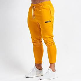 Men's Sweatpants Joggers Jogger Pants Track Pants Sports  Outdoor Athleisure Wear Bottoms Drawstring Cotton Winter Running Walking Jogging Training Breathable