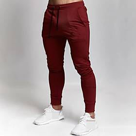 Men's Sweatpants Joggers Jogger Pants Track Pants Sports  Outdoor Athleisure Wear Bottoms Drawstring Winter Running Walking Jogging Training Breathable Moistur