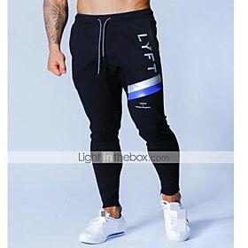 Men's High Waist Sweatpants Joggers Jogger Pants Track Pants Sports  Outdoor Athleisure Wear Bottoms Drawstring Cotton Winter Running Walking Jogging Training