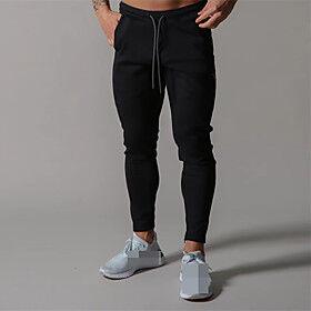 Men's High Waist Sweatpants Joggers Jogger Pants Sports  Outdoor Athleisure Wear Bottoms Drawstring Elastane Cotton Winter Running Walking Jogging Training Bre