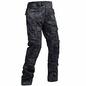 Tactical Trousers Men's Pants Airsoft Military Combat Camo for Paintball Swat Outdoor Sports