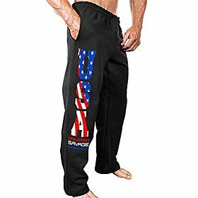 Men's Joggers Sweatpants Men's Active Sports Running Hiking Outdoor Workout Pant with Pockets(Black3 XXX-Large)