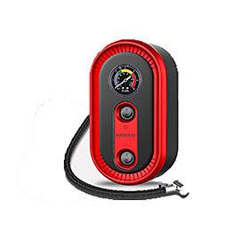 A01 12V  Car Tyre Inflatable Pump 120W Portable Auto Air Compressor Mechanical display Tire Inflator for Car Bike Ball