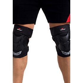 Unisex Knee Brace for Skiing Skating Skateboarding Motobike/Motorbike Cross-Country Shockproof Wearproof 1 Pair Sports Outdoor PE