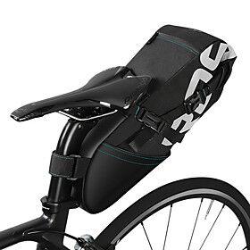 ROSWHEEL 8/10 L Bike Saddle Bag Multifunctional Large Capacity Waterproof Bike Bag Polyster Bicycle Bag Cycle Bag Road Bike Mountain Bike MTB Folding Bike / Re