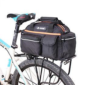 B-SOUL 14 L Bike Rack Bag Portable Wearable Durable Bike Bag Nylon Bicycle Bag Cycle Bag Cycling Outdoor Exercise Bike / Bicycle