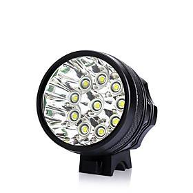 LED Bike Light Front Bike Light Headlight Flashlight LED Mountain Bike MTB Bicycle Cycling Waterproof Super Bright Portable Easy to Install Rechargeable Batter