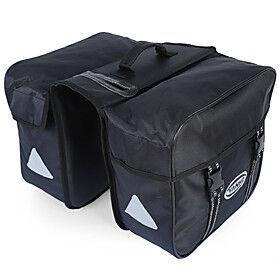 40 L Bike Panniers Bag Bike Rack Bag Large Capacity Waterproof Rainproof Bike Bag Oxford 600D Bicycle Bag Cycle Bag Road Bike / Sports / Cycling Road Bike Moun