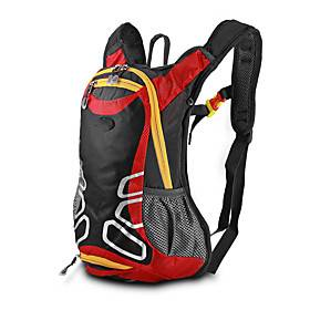 10 L Waterproof Daypack Cycling Backpack Multifunctional Reflective Portable Bike Bag Terylene Bicycle Bag Cycle Bag Multisport