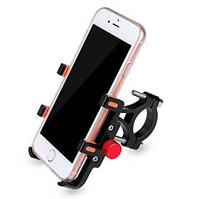 Bike Phone Mount Anti-Shake / Damping Non-Skid Easy to Install for Road Bike Mountain Bike MTB Recreational Cycling Aluminium alloy Cycling Bicycle Black Red G