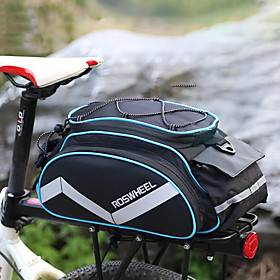 bicycle bags bike rack panniers bike pack accessories bike cargo bag cycling luggage bag shoulder bag handbag outdoor travel sports bag  3 side reflective stri