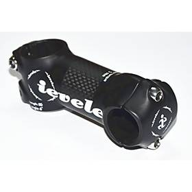 25.4 mm Bike Stem 6 degree 50/60/70/80 mm Aluminum Alloy Fiber Carbon Adjustable Durable for Cycling Bicycle