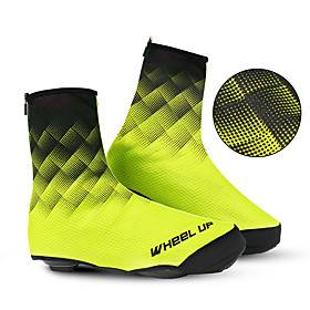 cycling shoe covers cold-proof and waterproof men's bike bicycle shoe covers overshoes with reflective design road bike mtb mountain bike cycling accessories