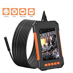 8 mm lens Industrial Endoscope 1000 cm Working length Portable Handheld Inspection Snake Tube