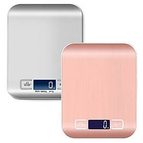 Digital Kitchen Scale LCD Display 1g/0.1oz Precise Stainless Steel Food Scale for Cooking Baking weighing Scales Electronic