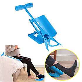Sock Slider Aid Easy on off Sock Helper Kit Shoe Horn Pain Free No Bending Shoe Horn for Pregnancy Dressing Aids Tools