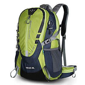 Mountaintop 25 L Hiking Backpack Multifunctional Rain Waterproof Ultra Light (UL) Wear Resistance Outdoor Hiking Running Cycling / Bike Special Material Black