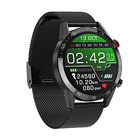 WAZA L13 ECG Blood Oxygen Monitor Wristband bluetooth Call Activity Tracker Music Control Phone Book Smart Watch