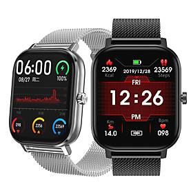 NO.1 Sports Tracker for Apple/ Samsng/ Android Phones, Multi-face Smartwatch Support Bluetooth Play Music/ Heart Rate/ Blood Pressure Measurement