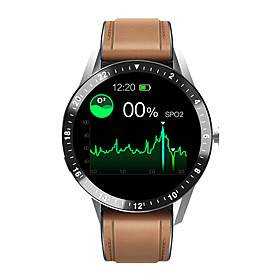 AW1 Smartwatch Support Bluetooth Call/Play Music/Heart Rate/Blood Pressure/Blood-oxygen Measure, Sports Tracker for Android/IOS Phones