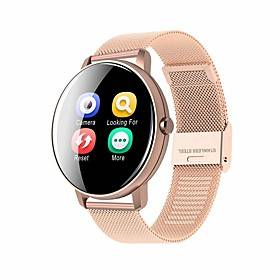 BT JSBP HP8 Smart Watch BT Fitness Tracker Support Notify/Heart Rate Monitor Sport Stainless Steel Bluetooth Smartwatch Compatible IOS/Android Phones