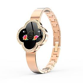 696 S6 Women's Smart Wristbands Bluetooth Heart Rate Monitor Blood Pressure Measurement Sports Information Camera Control Call Reminder Activity Tracker Sleep