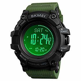 watch compass altimeter barometer thermometer temperature pedometer watch military army waterproof outdoors sport digital watch for men litbwat
