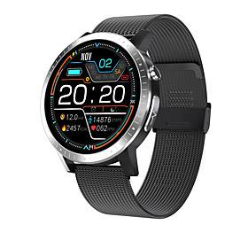 Samsung C06 Smartwatch for Android/Samsung/IOS Phones, Bluetooth Water-resistant Fitness Tracker Support Blood pressure/ECG Measurement