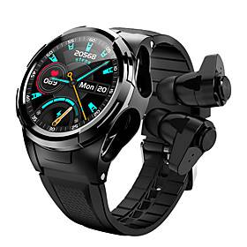 S201 Smartwatch with Wireless Earbuds Compatible with Android/ IOS Phones
