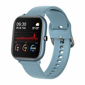 GT68 Smartwatch Support Bluetooth Call Play Music Heart Rate Blood Pressure Measure, Sports Tracker for iPhone/Android/Samsung Phones