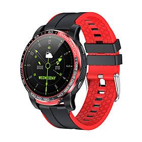 GW20 Long Battery-life Smartwatch Support Bluetooth Call/Heart Rate Blood Pressure Measure, Sports Tracker for iPhone/Android Phones