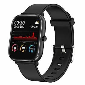 smart watch, fitness tracker for android phones and ios phones,1.4 touch screen smartwatch with ip68 waterproof,heart rate monitor,sleep monitor,step calorie c