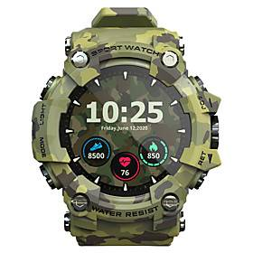 LOKMAT ATTACK Long Battery-life Smartwatch Support Heart Rate/Blood Pressure Measure, Sports  Tracker for Android/iPhone/Samsung Phones
