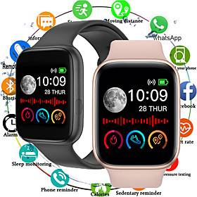 Apple MD2 Smartwatch for Apple/Samsung/Android Phones, Sports Tracker Support Heart Rate/Blood Pressure Measure