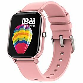 smart watch for android phone iphone compatible, ip67 waterproof bluetooth fitness tracker heart rate blood oxygen pressure sleep monitor, call message reminde