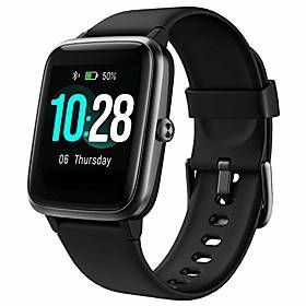 full touchscreen smart watch for android phones, sleep tracking smartwatch for men women with gps tracker heart rate monitor, 5atm waterproof fitness activity