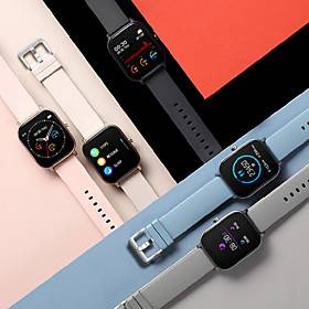 Long Battery-life Smartwatch for Apple/Android Phones, Water-resistant Sports Tracker Support Heart Rate/Blood Pressure Measure