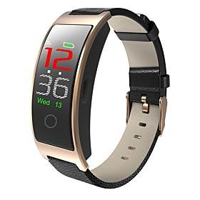 CK11C Smart Wristband Support Heart Rate/Blood Pressure Measure,   Water-resistant Cuved-screen Tracker for Android/IOS Phones
