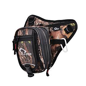 Unisex Bags Oxford Cloth Fanny Pack Zipper Plain Printing 2021 Daily Outdoor Black Brown