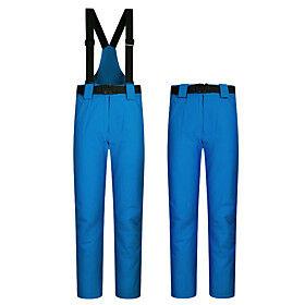 Men's Ski / Snow Pants Downhill Winter Sports Thermal / Warm Waterproof Windproof Cotton POLY Warm Pants Ski Wear