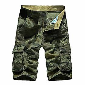 elibone men's camo shorts summer baggy pockets with zipper trousers camouflage cargo clothes streetwear bermuda masculina,11,34