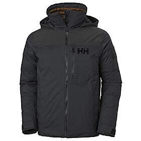 Arctic hellyhansen arctic ocean puffy jacket men's jacket - ebony, s