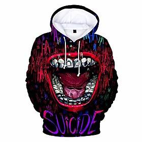 3d print sweatshirt hoodies men and women hip hop funny autumn streetwear hoodies sweatshirt for couples clothes sky blue
