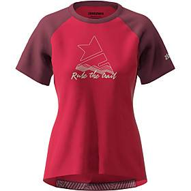 Women's Short Sleeve Downhill Jersey Red Bike Top Mountain Bike MTB Road Bike Cycling Breathable Quick Dry Sports Clothing Apparel / Stretchy / Athleisure