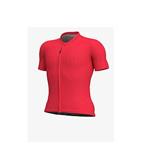 Men's Short Sleeve Downhill Jersey White Red Bike Jersey Sports Clothing Apparel