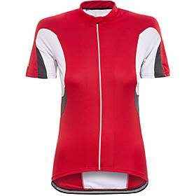 Women's Short Sleeve Cycling Jersey Red Bike Top Mountain Bike MTB Road Bike Cycling Breathable Quick Dry Sports Clothing Apparel / Stretchy / Athleisure