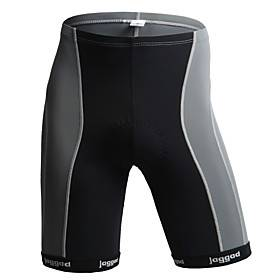 Jaggad Men's Cycling Padded Shorts Gray Bike Shorts Padded Shorts / Chamois Pants Mountain Bike MTB Road Bike Cycling Breathable Quick Dry Sports Clothing Appa