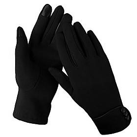 Women Winter/Outdoor Gloves Phone Touchscreen Mittens Windproof for Sport, Ski, Cycling, Running